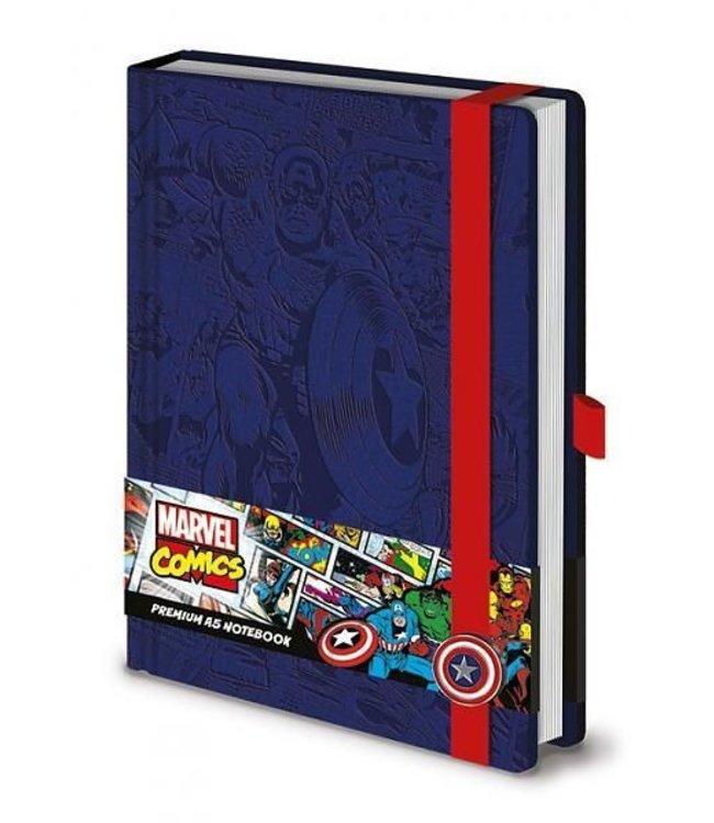 A5 Marvel Retro Captain America