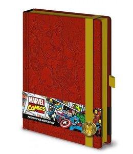 A5 Marvel Retro Iron Man