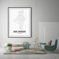 30x40 Poster Oude Noorden