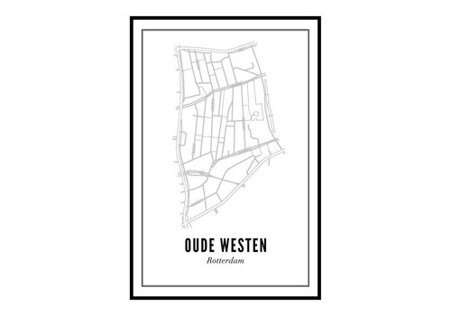 Wijck A4 Poster Oude Westen