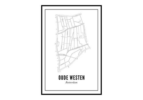 Wijck Poster Oude Westen 50x70