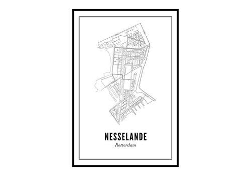 Wijck 30x40 Poster Nesselande