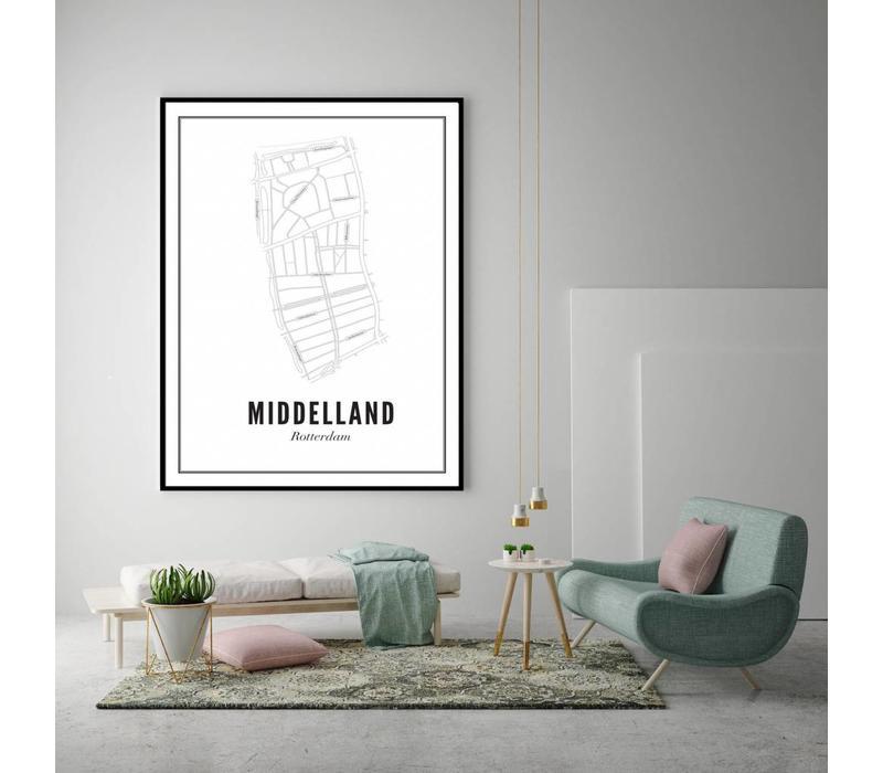 A4 Poster Middelland