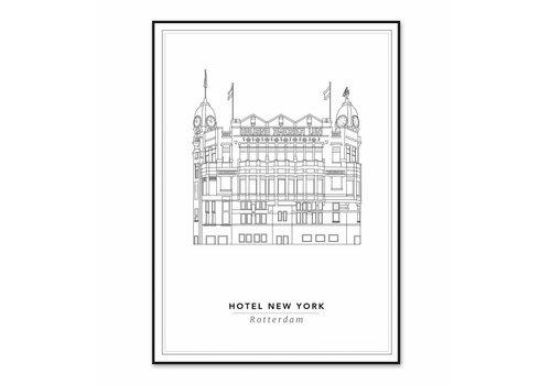 Cityprints Hotel New York 21x29,7cm