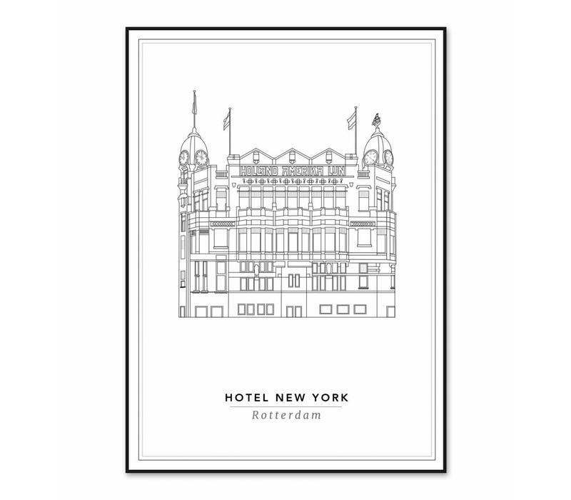 Hotel New York 21x29,7cm