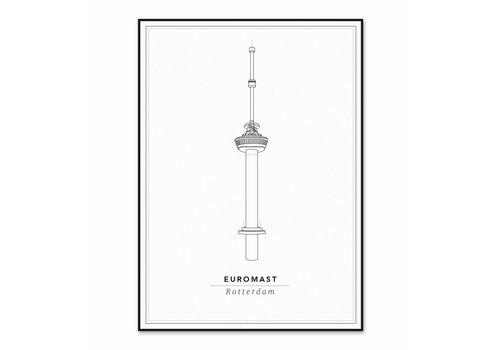 Cityprints Euromast 30x40cm