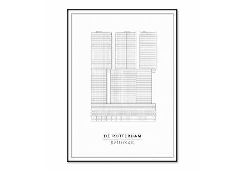 Cityprints De Rotterdam 50x70cm
