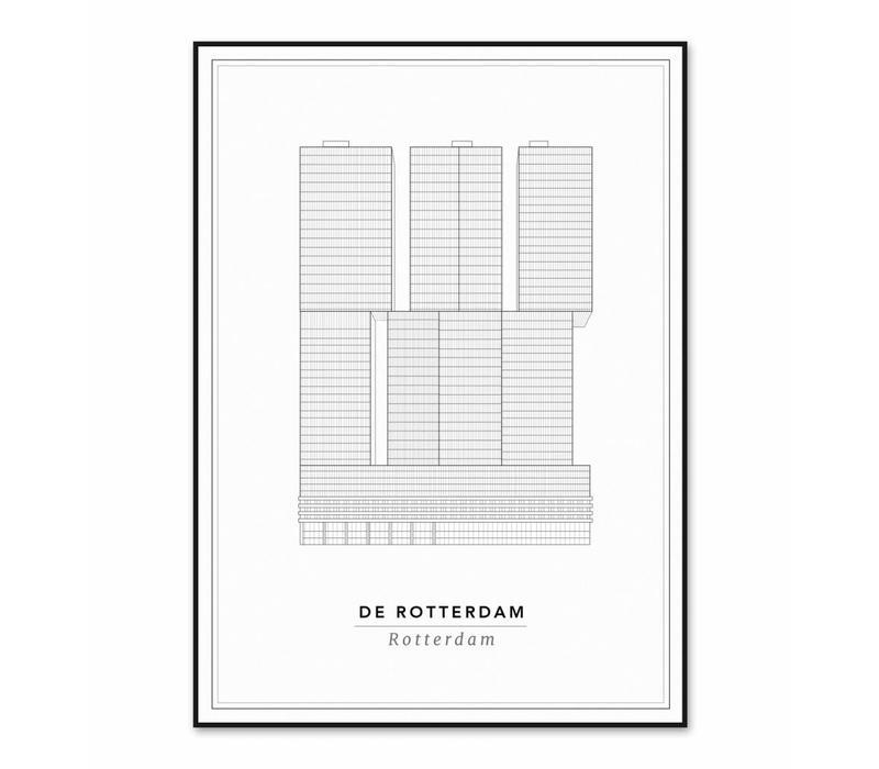 De Rotterdam 30x40cm