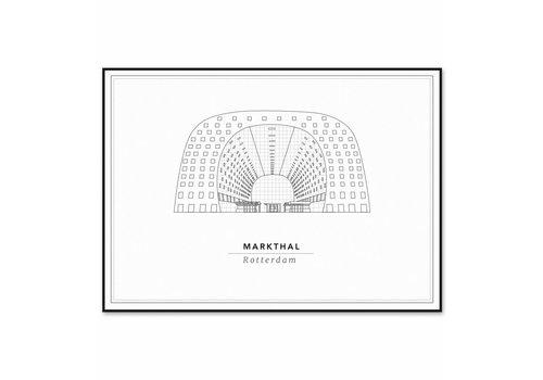 Cityprints De Martkhal 50x70cm