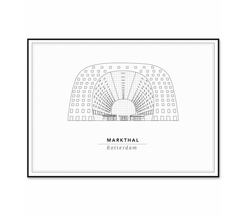 De Martkhal 50x70cm