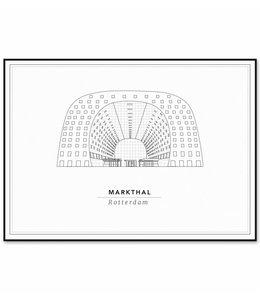 Cityprints De Markthal 30x40cm