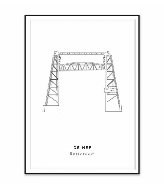 Cityprints De Hef 21x29,7cm
