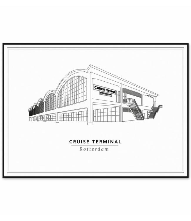 Cityprints Cruise Terminal 50x70cm