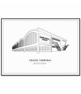 Cityprints Cruise Terminal 30x40cm