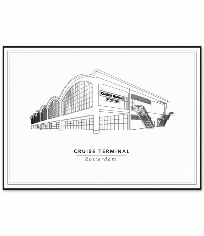 Cityprints Cruise Terminal 30x40cm