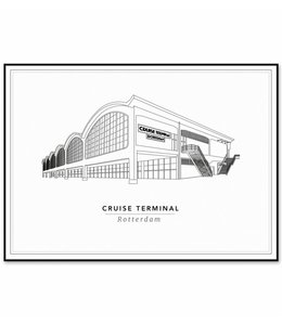 Cityprints Cruise Terminal 21x29,7cm