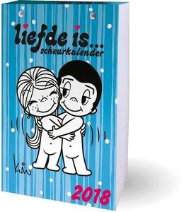 Interstat Scheurkalender 2018 Liefde is