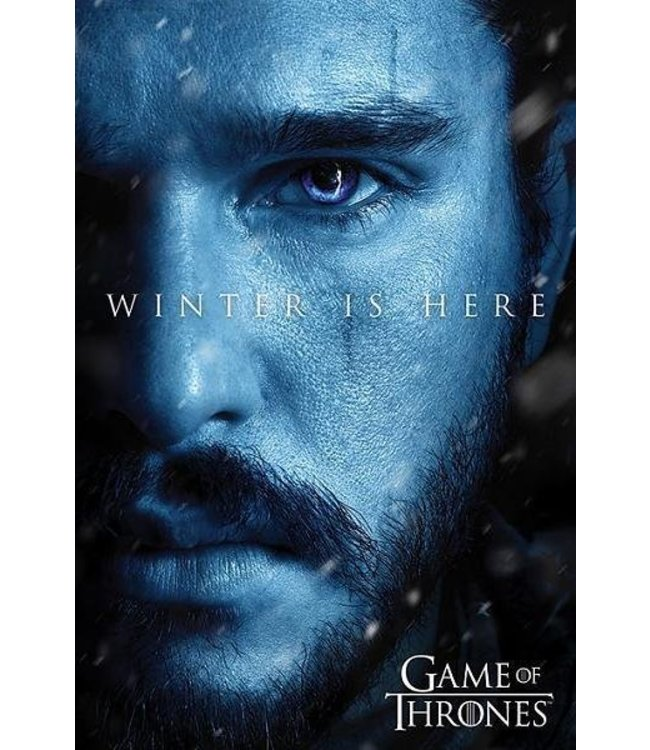 Game of Thrones winter is here Jon