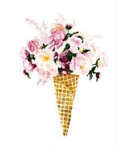 Leo La Douce Artprint A4 - Flower Cone