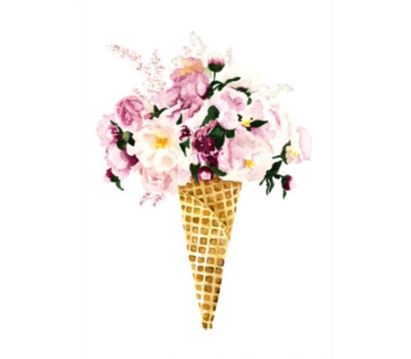 Artprint A4 - Flower Cone