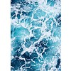 Blue water 50x70
