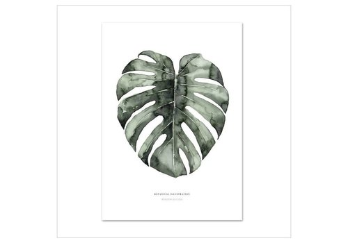 Leo La Douce Artprint A4 - Urban Monstera