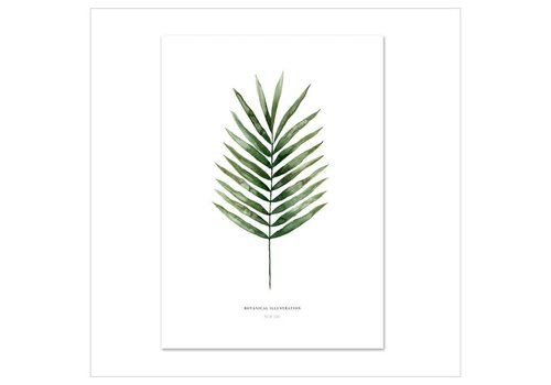 Leo La Douce Artprint A4 - Palm Leaf