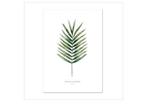 Leo La Douce Artprint A4 - Palm Leaf