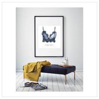Artprint 30x30 - Vintage Lingerie