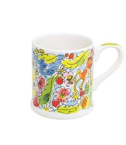 BLOND AMSTERDAM Paradise mug blue