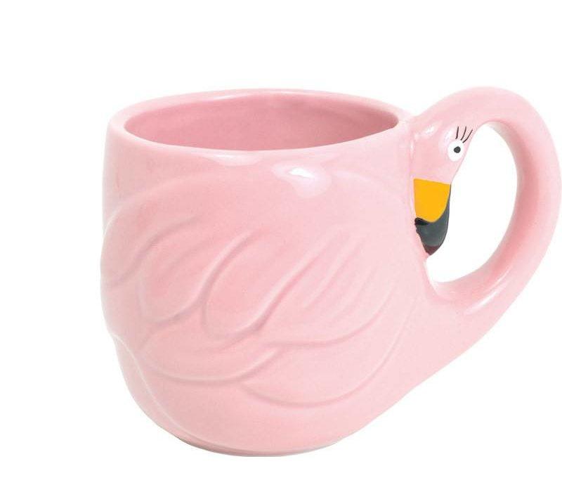 Rose Paradise flamingo mok
