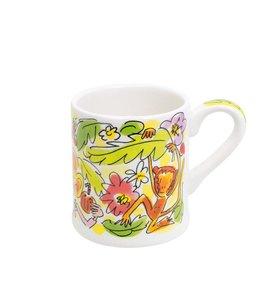 BLOND AMSTERDAM Paradise mini mug yellow