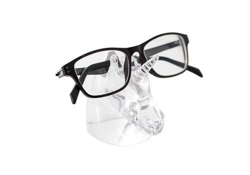 Balvi Eyeglasses holder unicorn transparent