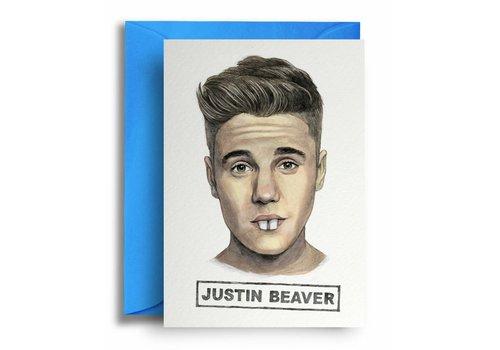 Quite Good Cards Justin Beaver