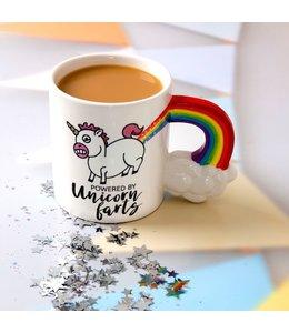 Big Mouth Mug Unicorn farts