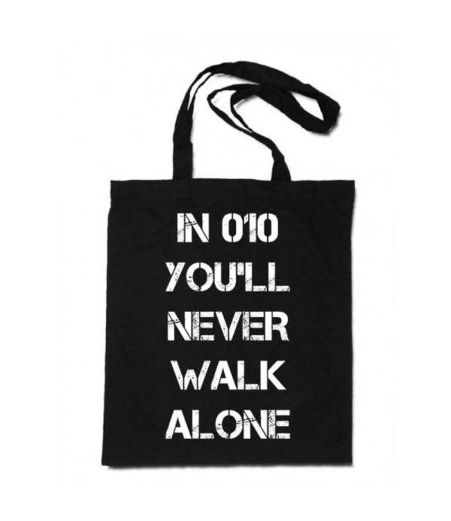F&F Linnen Tas You'll never walk alone