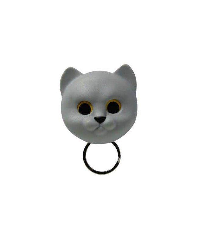 Neko Cat  Sleutelhouder- grijs