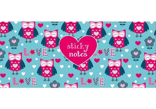 De Lantaarn Sticky notes box Uilen