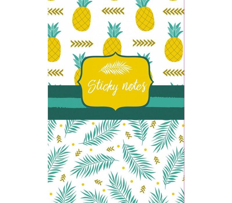 Kleef blaadjes set Ananas