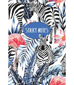 De Lantaarn Sticky notes pack Zebra