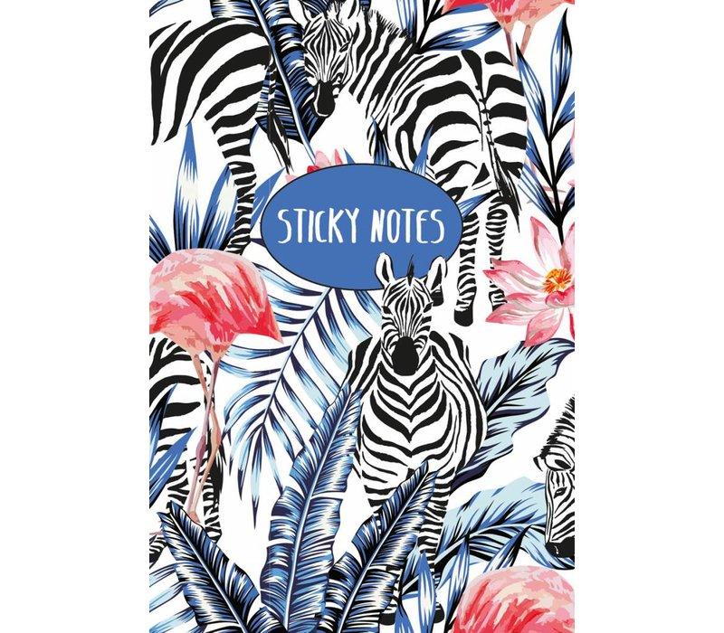Kleef blaadjes set Zebra