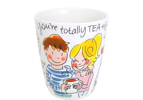 BLOND AMSTERDAM Valentine Mug You're Totally Tea-riffic