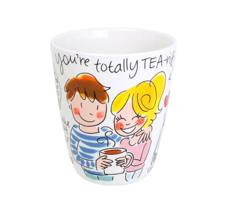 Valentine Mug You're Totally Tea-riffic