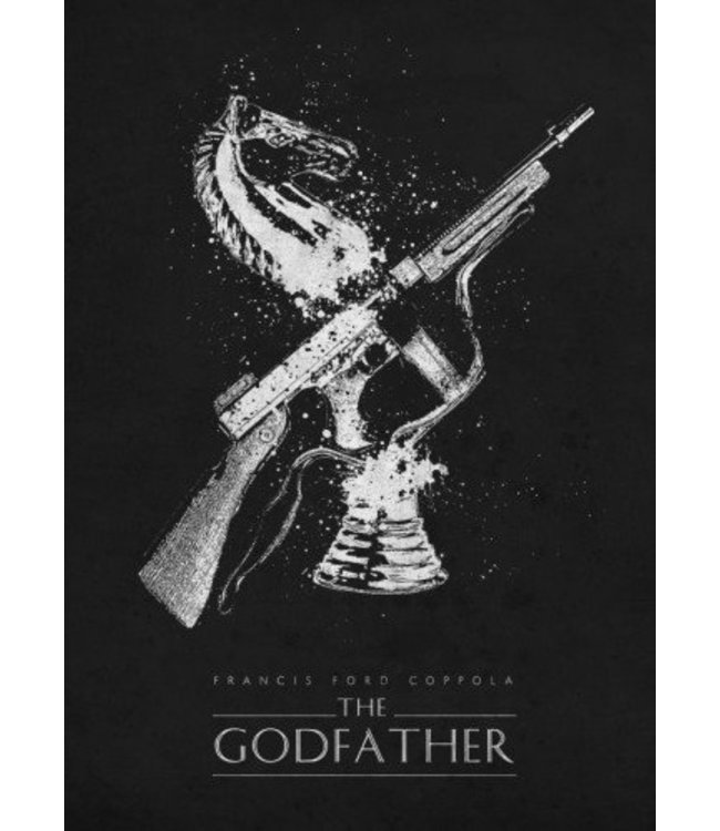Displate The Godfather classic 10x15cm
