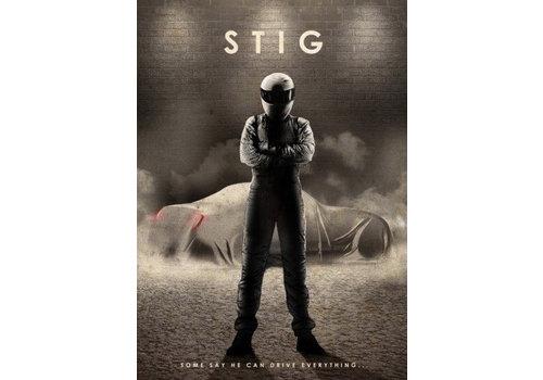 Displate The Stig 10x15cm
