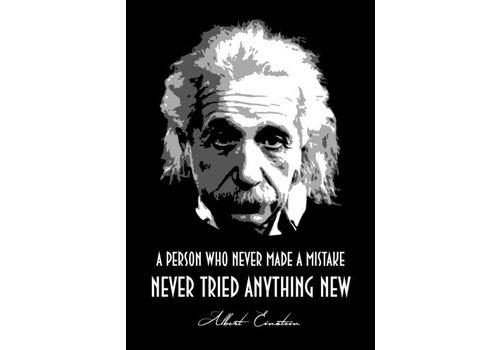 Displate Albert Einstein 10x15cm
