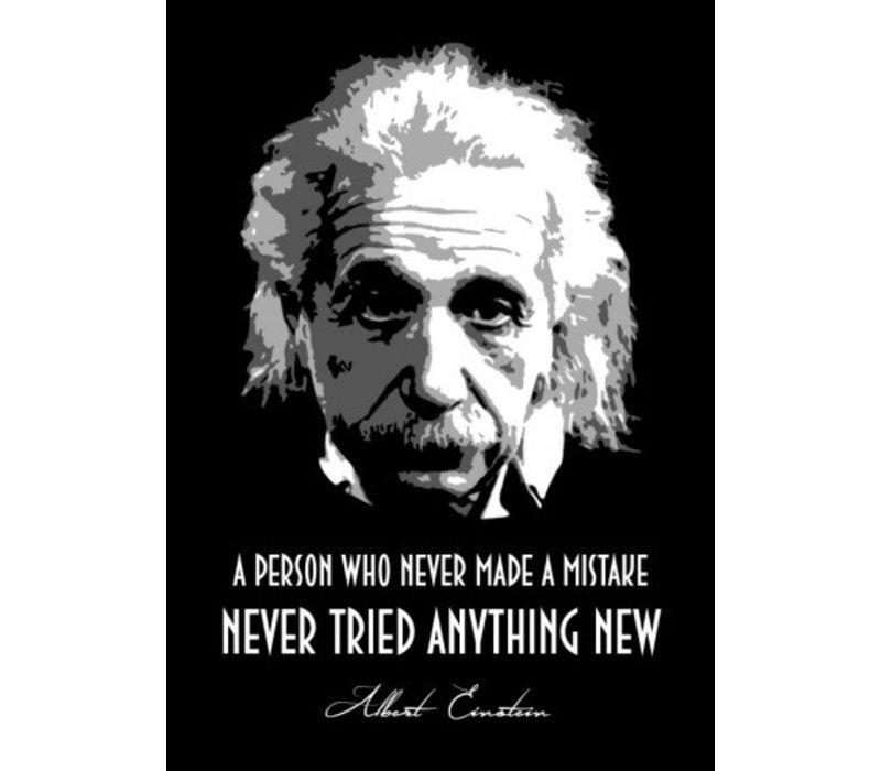 Albert Einstein 10x15cm