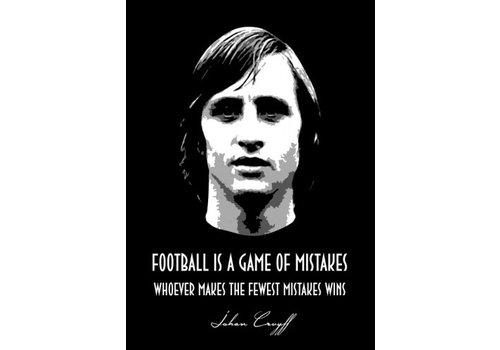 Displate Johan Cruyff 10x15cm