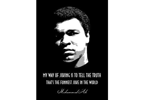 Displate Muhammed Ali 10x15cm