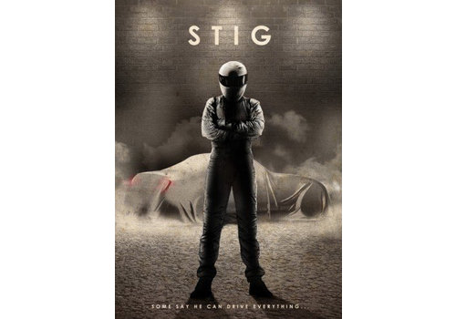 Displate The Stig 32x45cm